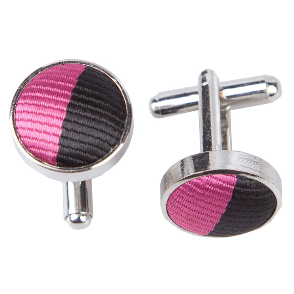 Striped Cufflinks in 16 colours