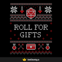 Holiday 2019 - Roll for Gifts
