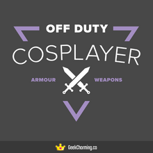 Off Duty Cosplayer: Armour (Fitted)