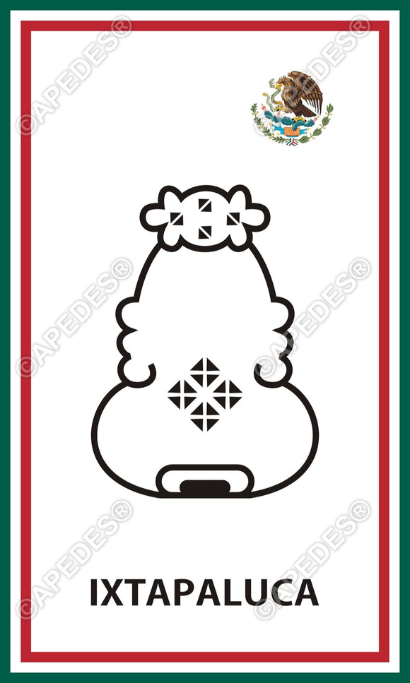 Ixtapaluca City Mexico Decal Sticker 3x5 inches
