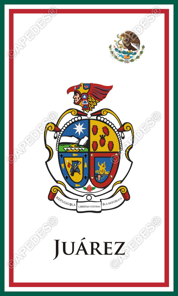 Juarez City Mexico Decal Sticker 3x5 inches
