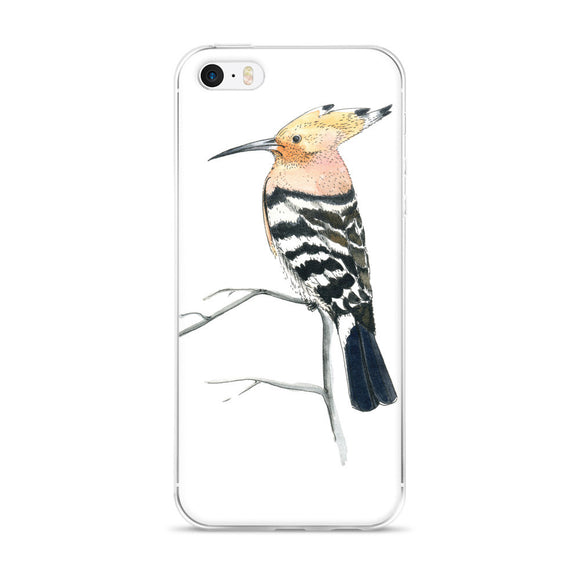 The hoopoe (Удод by Nataly Minchuk) iPhone case