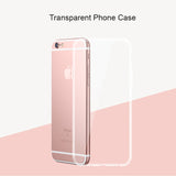 Transparent Clear Case For iPhone 7 7 Plus For iPhone 6 6s Plus Soft Silica Gel TPU Silicone Ultra Thin Phone Case Fundas Capa