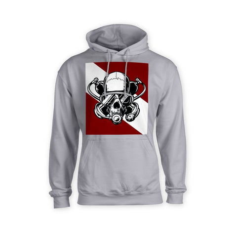 Diver Down Hoodie - Apedes Flags and Banners