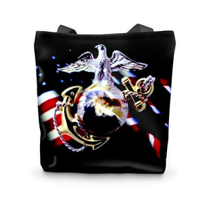 Us Marines Tote Bag