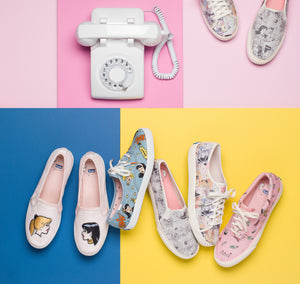 BV x Keds Spring Collection!