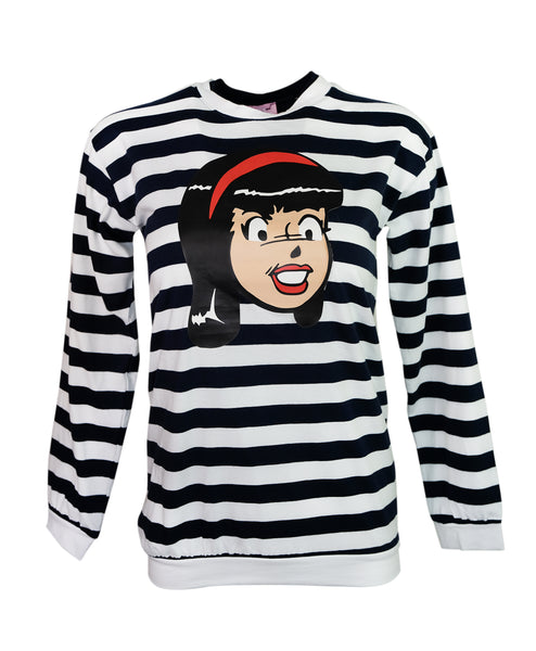 Smile Striped Jumper - Veronica