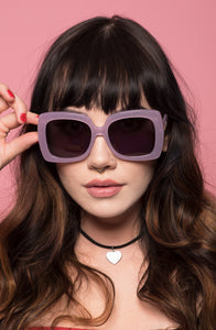 Nancy Sunnies - Lilac Glitter