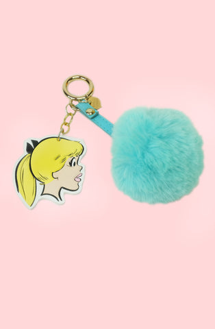 Betty Leather Keychain