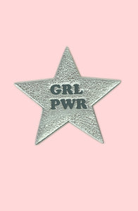 GRL PWR Leather Patch