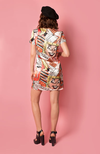 Lottie Shift Dress - Betty Print