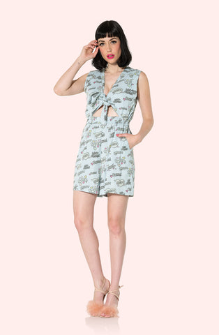 Kissing Sounds Romper