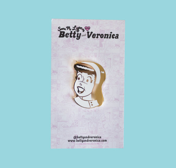 VERONICA LODGE GOLD PIN