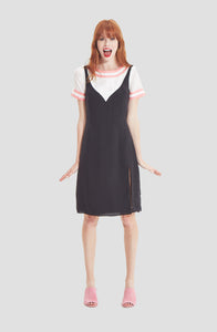 Black Two-fer Dress