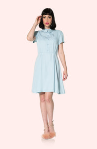 Scallop Collar Dress