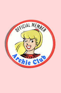 Archie Club Betty Leather Patch