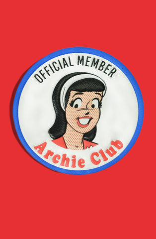 Archie Club Veronica Leather Patch