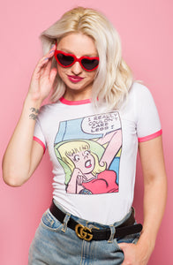 Betty Comic Ringer Tee