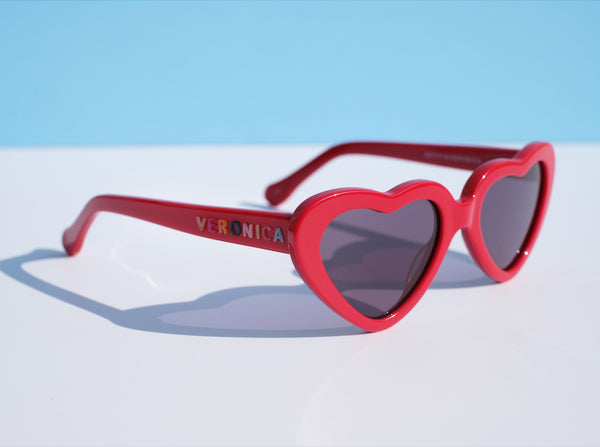 Cheryl Sunnies - Cherry Red