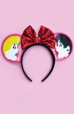 B&V x Imaginexears Red Bow Headband - SOLD OUT