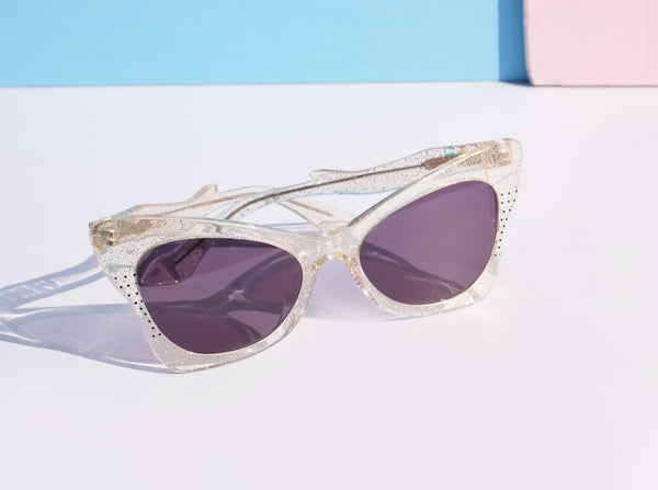 Ethel Sunnies - Clear Glitter - BACK IN STOCK!