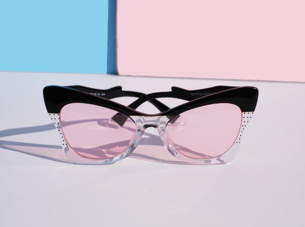 Ethel Sunnies - Black & Clear - BACK IN STOCK!