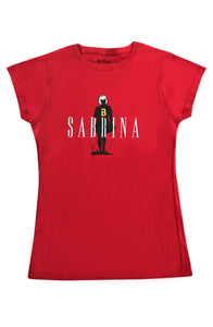 Sabrina Spellman Tee - Red - Women's