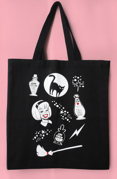 Sabrina Canvas Tote Bag