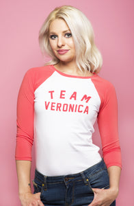 Team Veronica Raglan Tee