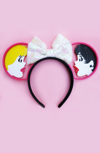 B&V x Imaginexears White Bow Headband