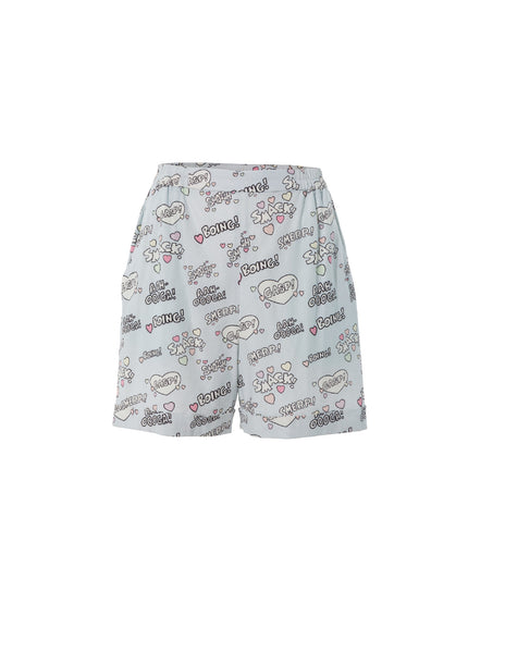 Kissing Sounds Shorts