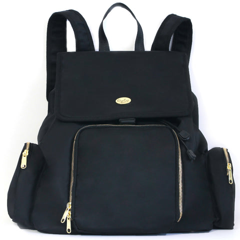 Kaylaa Premium Breast Pump Bag - Backpack (Classic Black)