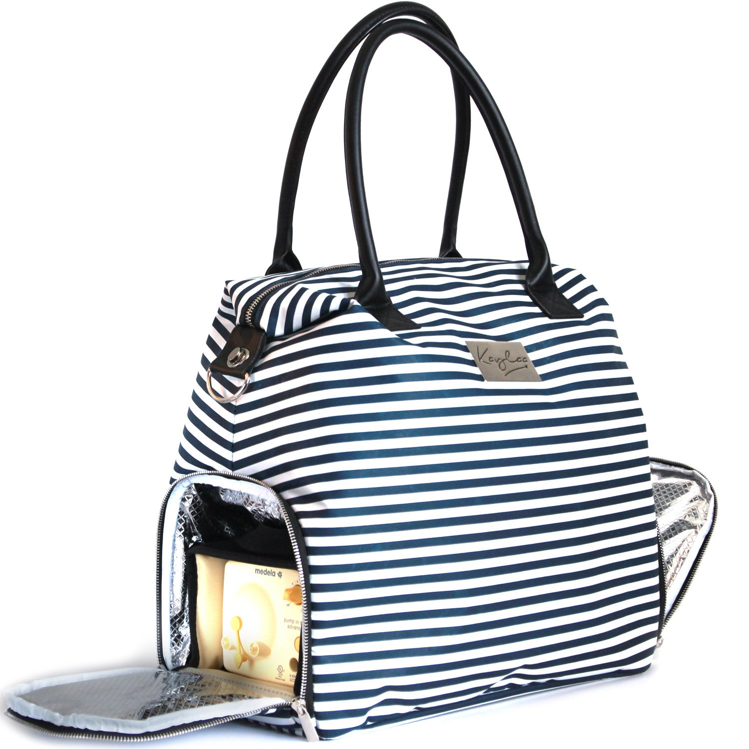 Kaylaa Premium Breast Pump Bag 2017 (Luxury Stripe)