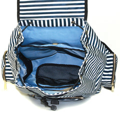 Kaylaa Premium Breast Pump Bag - Backpack (Luxury Stripe)