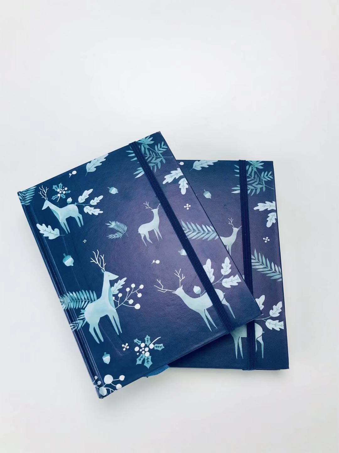 SEASONAL COLLECTION PURE WINTER HARDCOVER NOTEBOOK WITH RULER