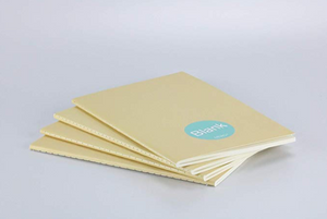 MILIKO A5 ESSENTIAL SERIES SOFTCOVER NOTEBOOK(BLANK/PLAIN)[20PCS,60PCS,80PCS]