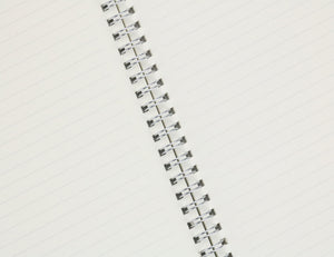 Miliko Transparent Hardcover B5 Ruled Wirebound Notebook Set - Miliko