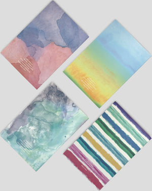 MILIKO WATERCOLOR SERIES SOFTCOVER NOTEBOOKS(Random Pack)[50pc,70pc,100pc]
