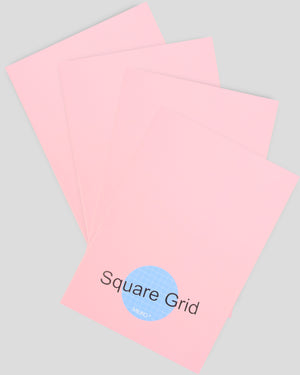 MILIKO A5 ESSENTIAL SERIES SOFTCOVER NOTEBOOK(SQUARE GRID)[20PCS,60PCS,80PCS]