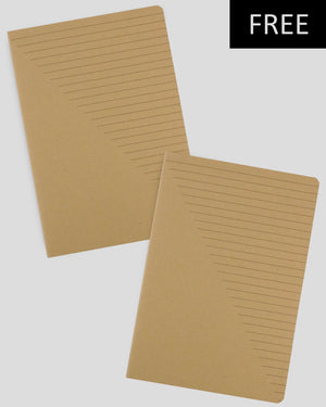 MILIKO SOFTCOVER 2 NOTEBOOKS SET [FREE]