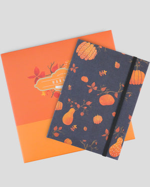 Seasonal Collection Harvest Autumn Hardcover Notebook Gift Set