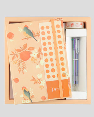 Seasonal Collection Bloom Spring Hardcover Notebook Gift Set