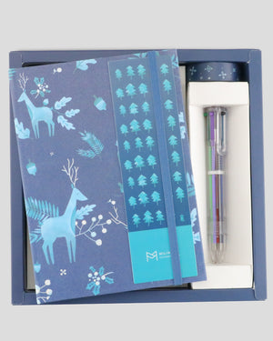 Seasonal Collection Pure Winter Hardcover Notebook Gift Set