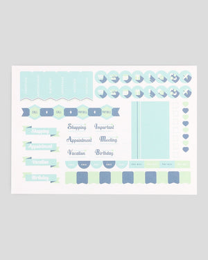 Miliko Life/Daily Planner with Stickers