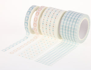 Miliko Basic Collection Washi Tape Set [FREE] - Miliko