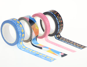 Miliko Abstraction Collection Washi Tape Set [FREE] - Miliko