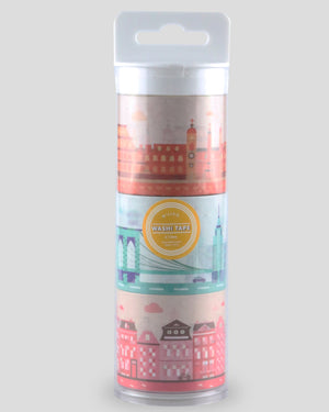 City Collection Decoration Washi Tape Set