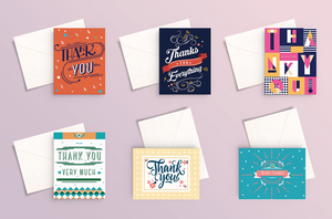 Miliko Thank You Card Set (BUNDLE SALES!!!)
