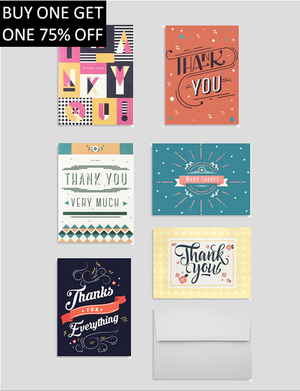 Miliko Thank You Card Set