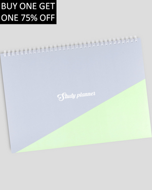 Miliko A4 Study Planner/Organizer(Green)